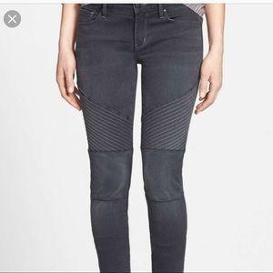 Treasure and Bond skinny moto jeans size 27